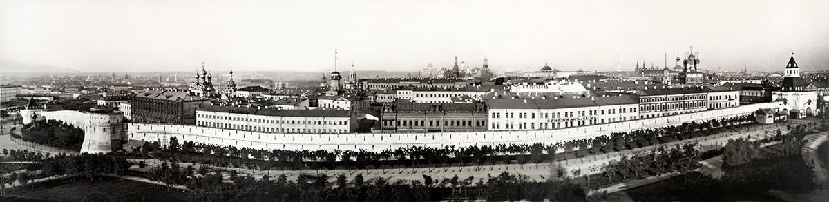 Panorama de Kitaï-Gorod en 1887