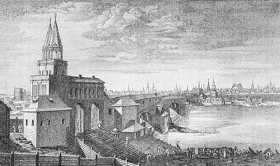 Illustration du début du XVIIIe siècle