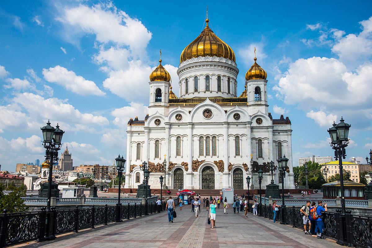 救世主ハリストス大聖堂の現在の様子