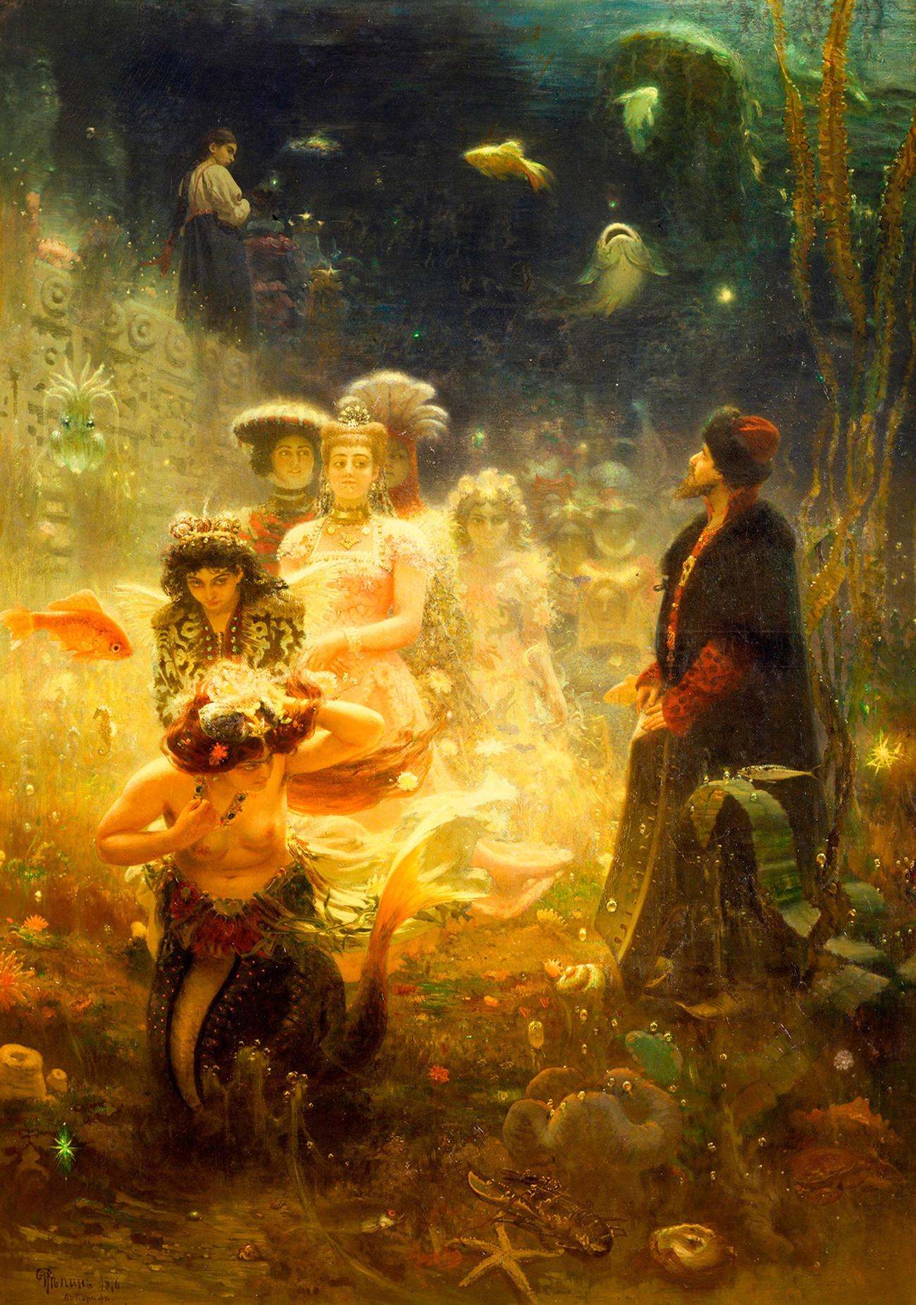 Ilya Repin. Sadko