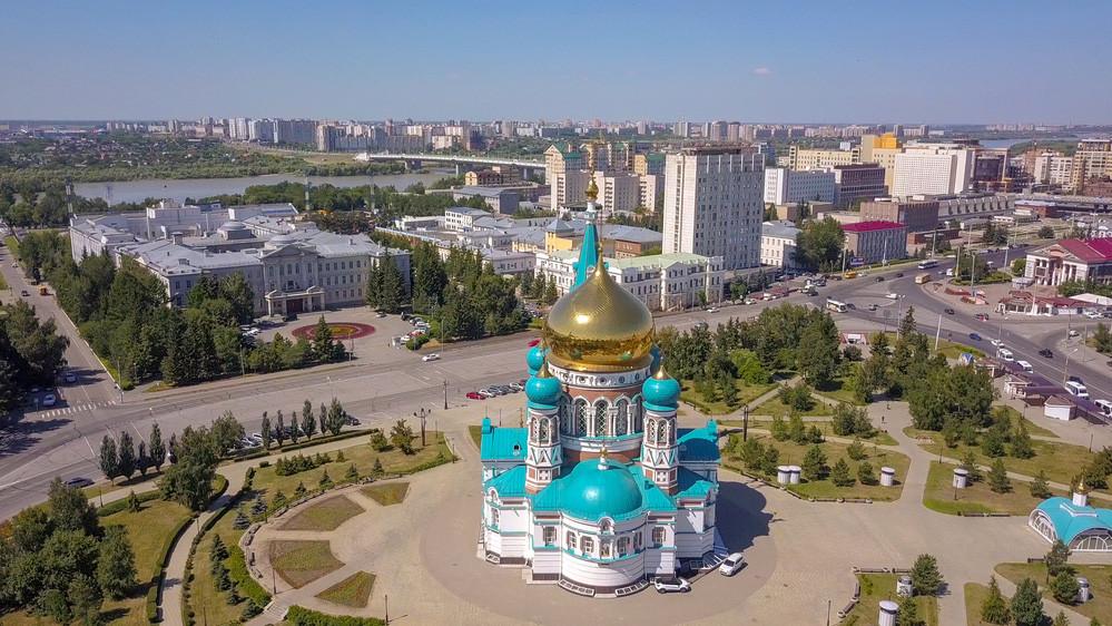 Kathedrale Mariä Himmelfahrt in Omsk
