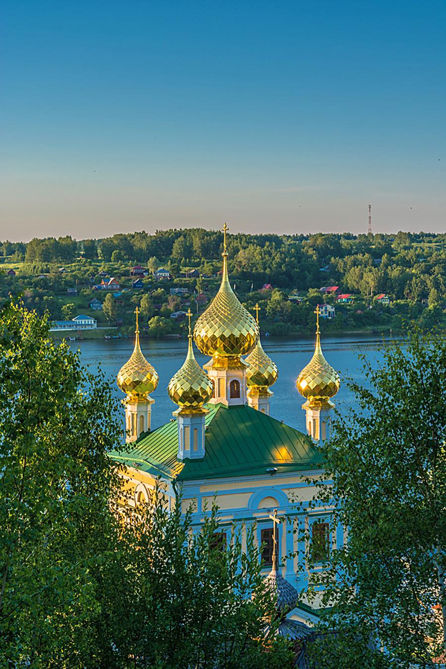 Auferstehungskirche in Pljos, Oblast Iwanowo