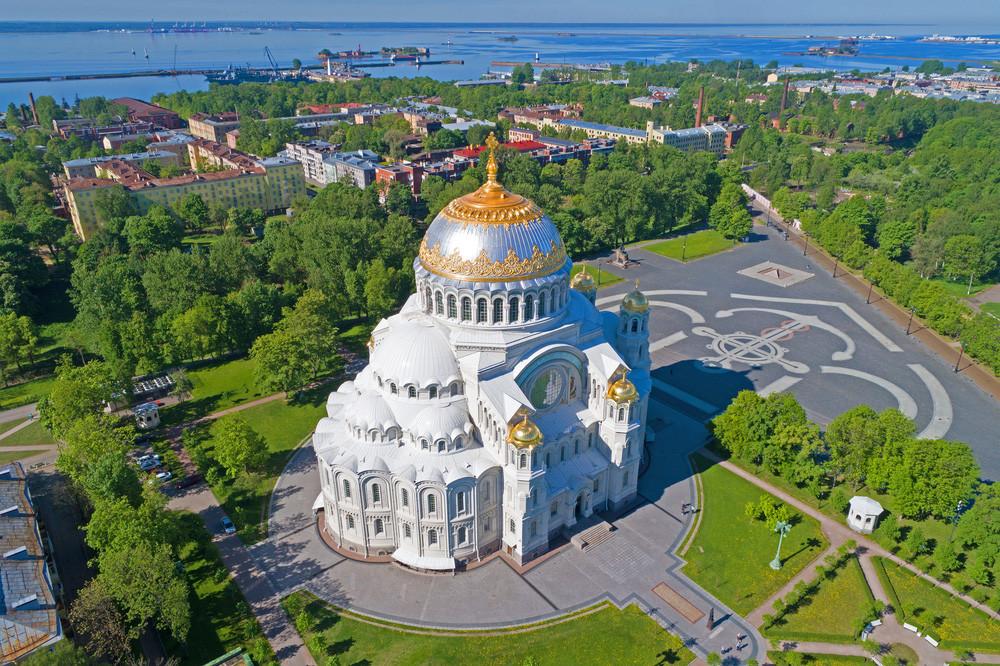 St. Nikolaus-Kathedrale in Kronstadt, St. Petersburg