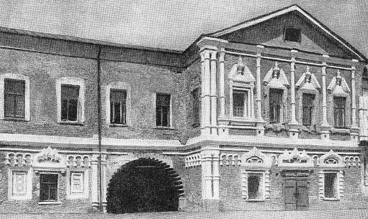 Palace of Vasiliy Golitsyn in Okhotny Ryad