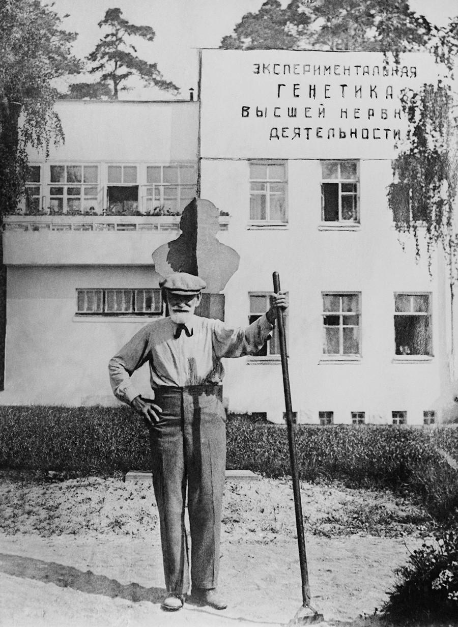 Ivan Pavlov in Koltushi, Leningrad Region