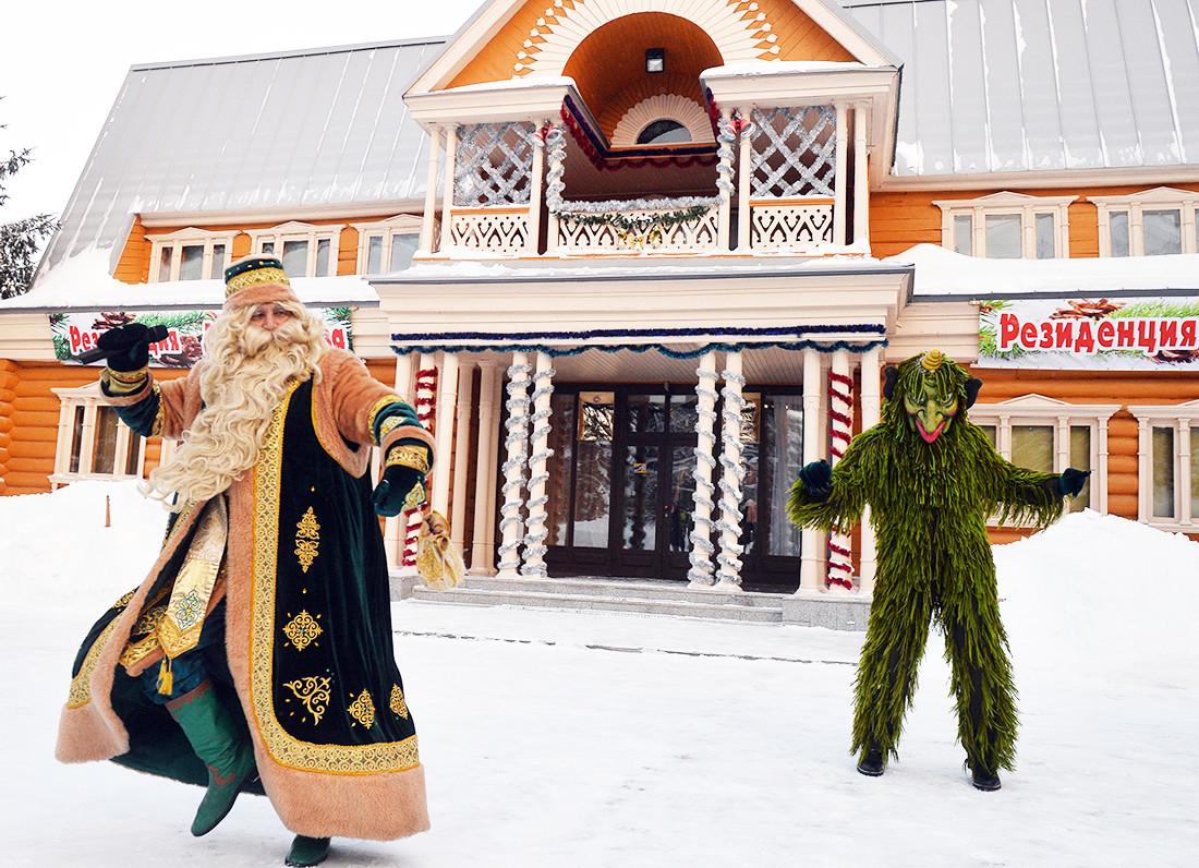 Kysh Babai, Papa Noel tártaro.