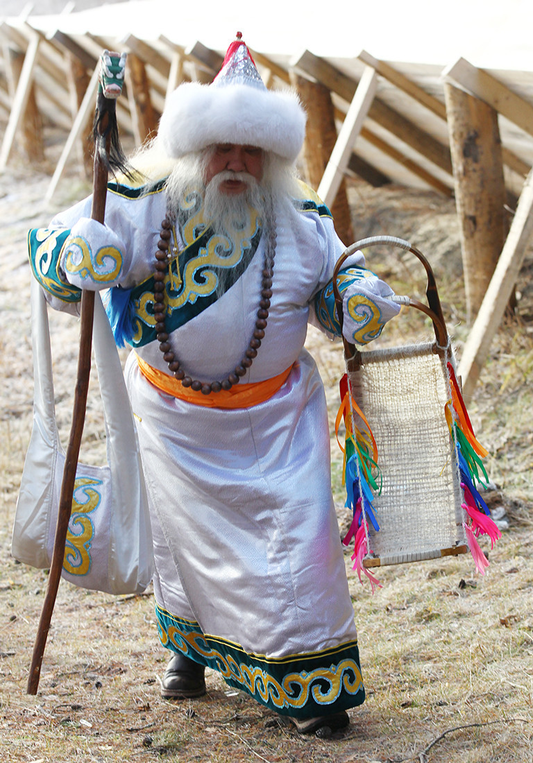 Saagan Ubugun, Papa Noel buriato.