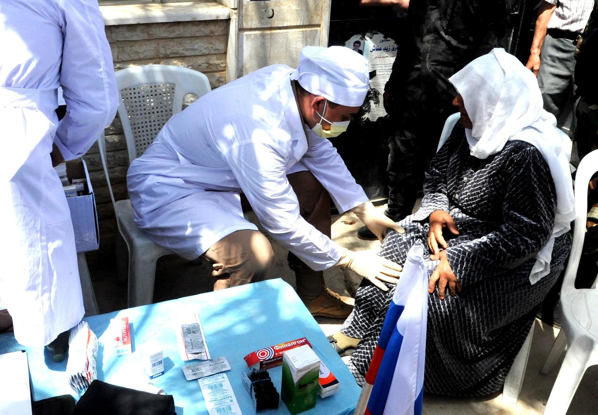 Руски медицински стручњаци у Сирији