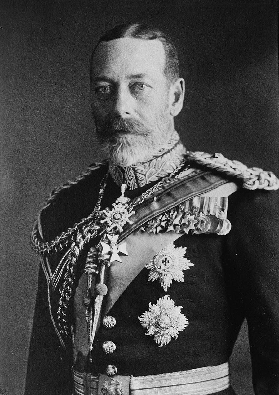 Енглески краљ Џорџ V.