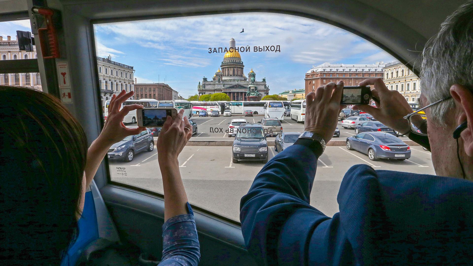 Туристичка линија у Петербургу