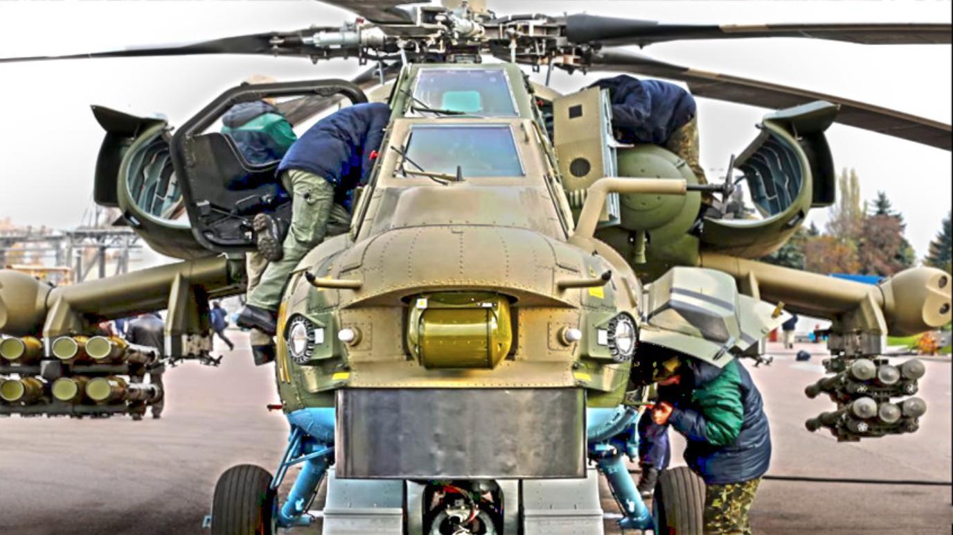 Модернизовани ударни хеликоптер Ми-28НМ