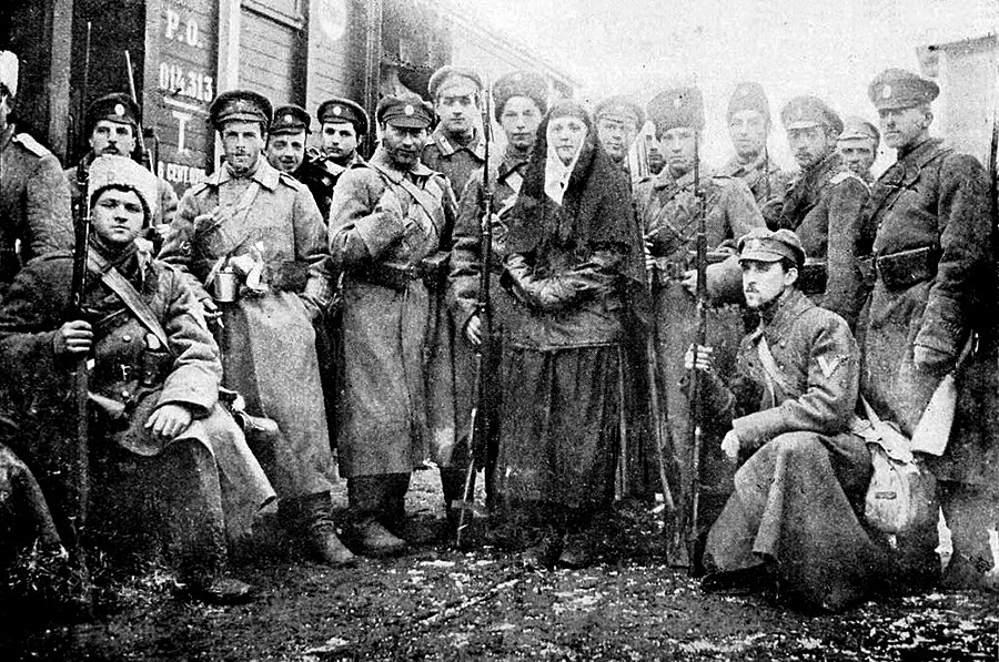 Пехотна рота на Доброволческата армия