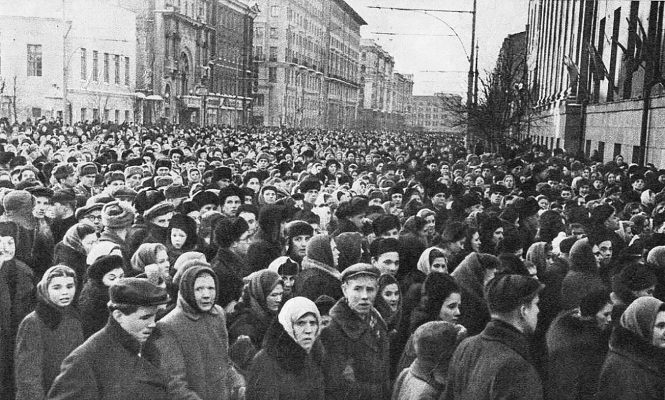 スターリンの葬儀