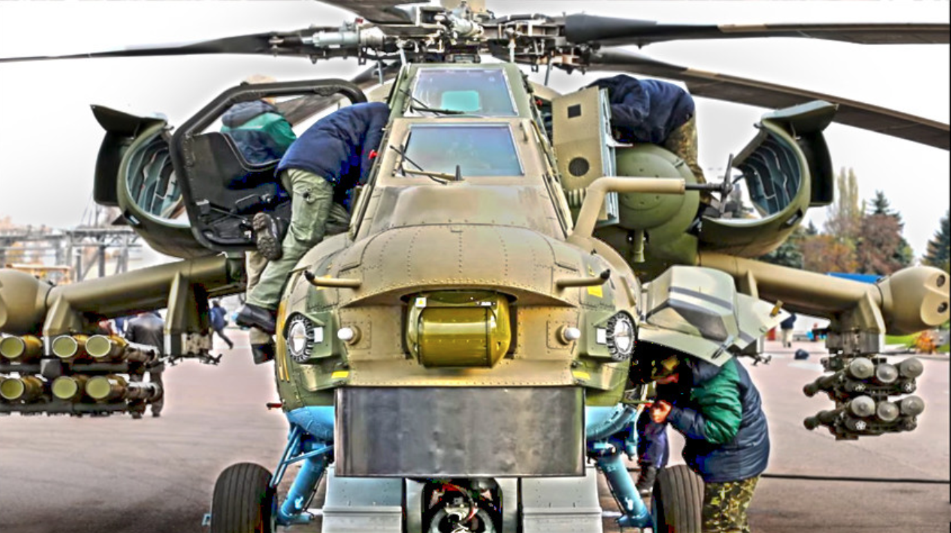 Modernizirani udarni helikopter Mi-28NM