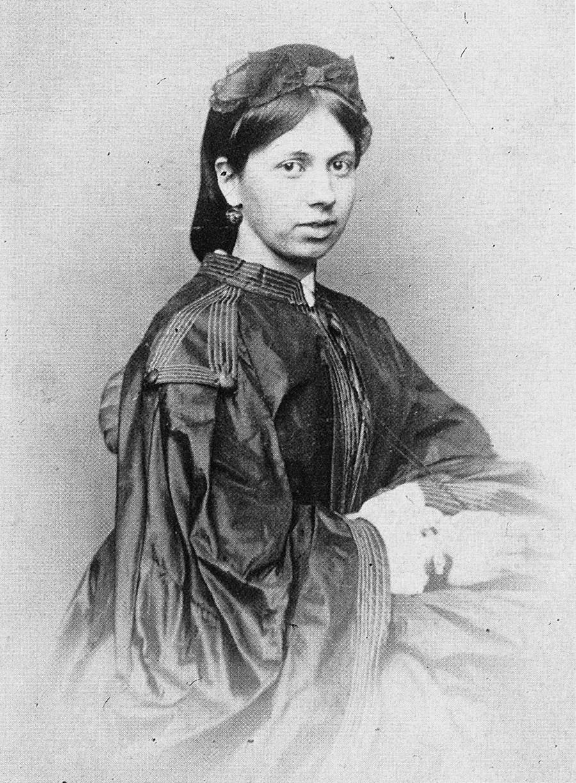 ソフィア・ベルス、トルストイの妻、1862年