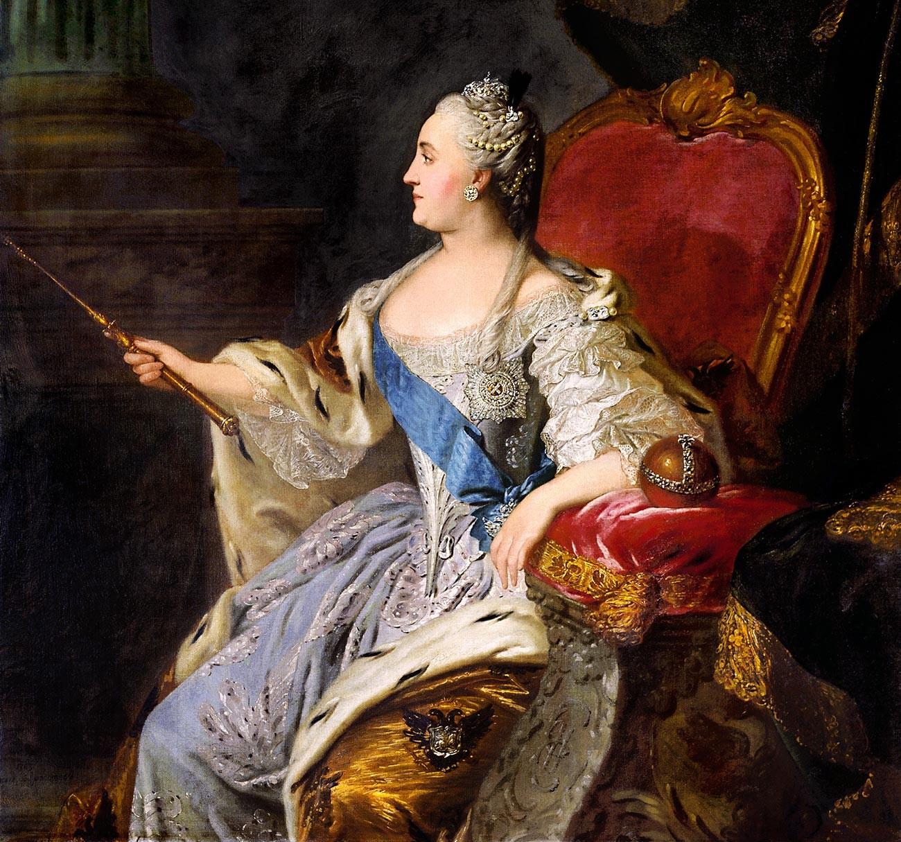 Портрет Катарине II.