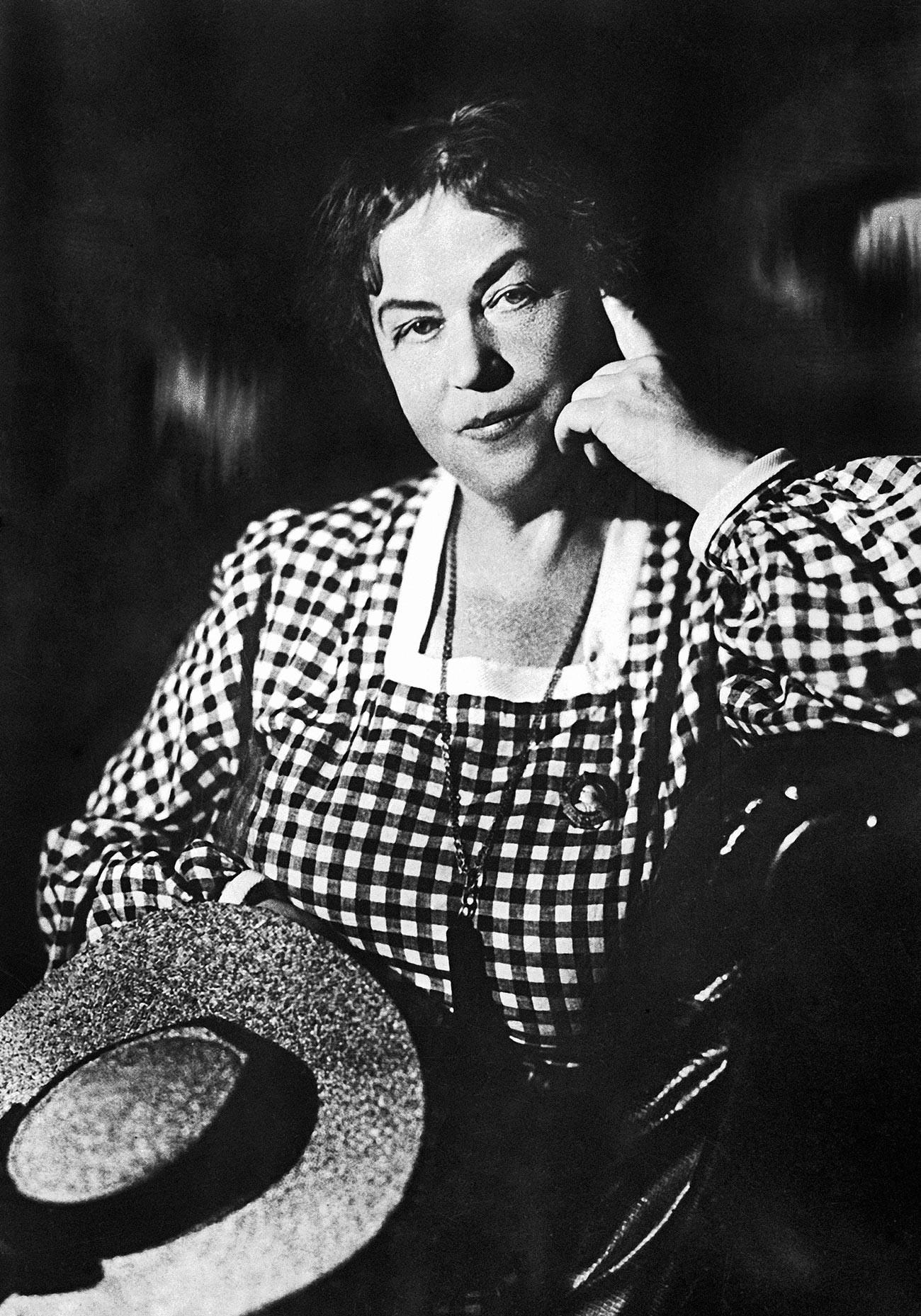 Александра Михајловна Колонтај. Фотографија из 1937.