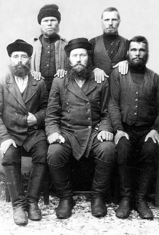 Pomors, early 20th century
