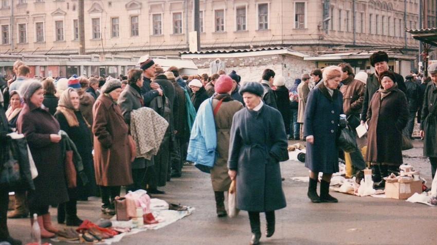 Tržnica v Rostovu na Donu, 1992