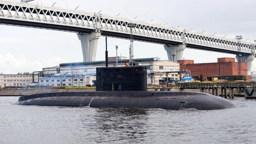"""Подводница B-274 """"Петропавловск-Камчатский"""""""