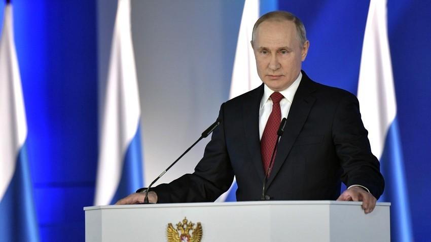 Обраќање на Путин до Федералното собрание, 15.01.2020.