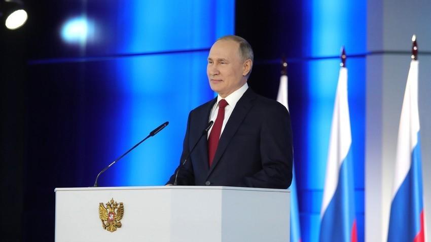 Обраќање на претседателот на РФ Владимир Путин до Федералното собрание, 15.01.2020.