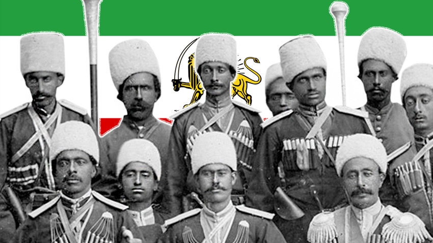 Častniki perzijske kozaške brigade