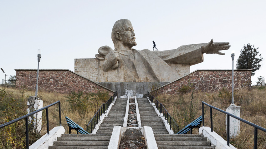 Monumento a Lenin (1965). Istaravshan, Tajikistan