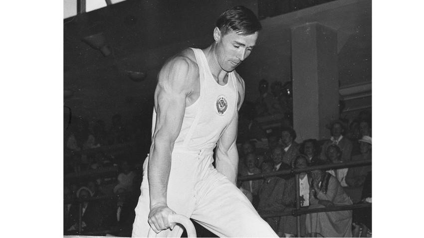 Виктор Чукарин на ОИ 1952.