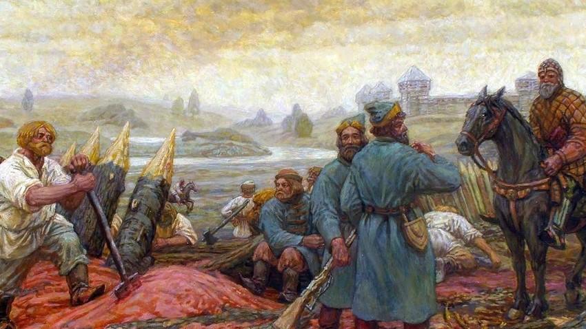 """М. Пресњаков, """"Белгородска одбрамбена линија"""""""