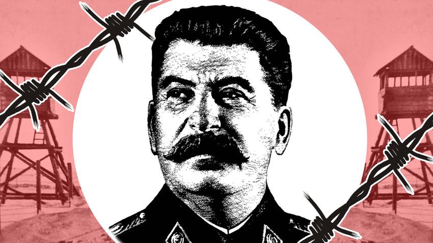 Kerajaan kamp kerja paksa Stalin mencakup seluruh Uni Soviet pada 1930-an hingga 1940-an.