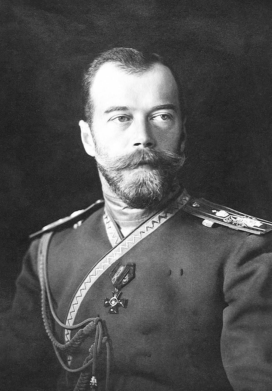 Руски цар Николај II Романов.