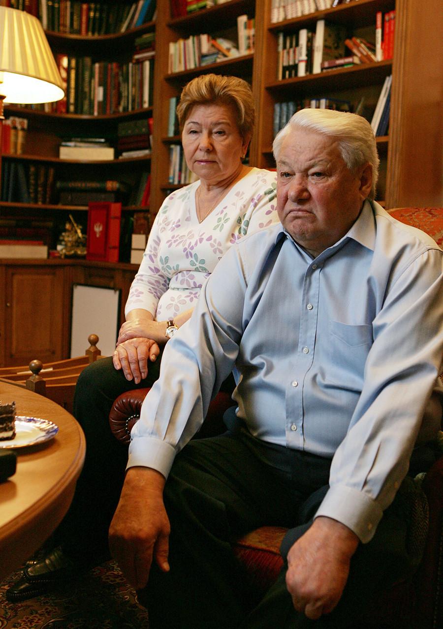Борис Николаевич Елцин во Барвиха 24.11.2006, Русија.