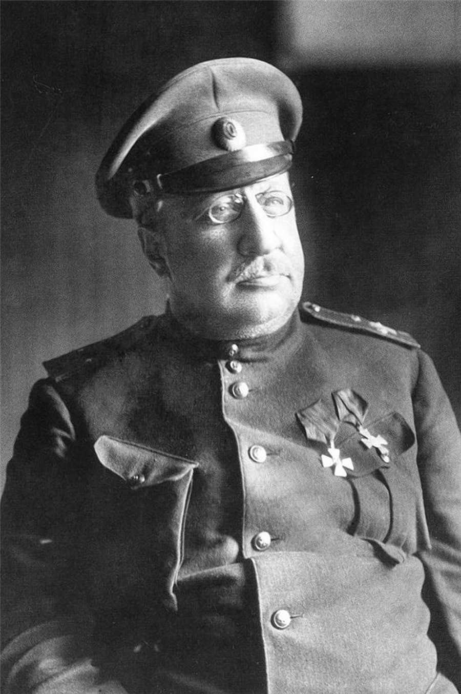 Lieutenant-General Vladimir May-Mayevsky.