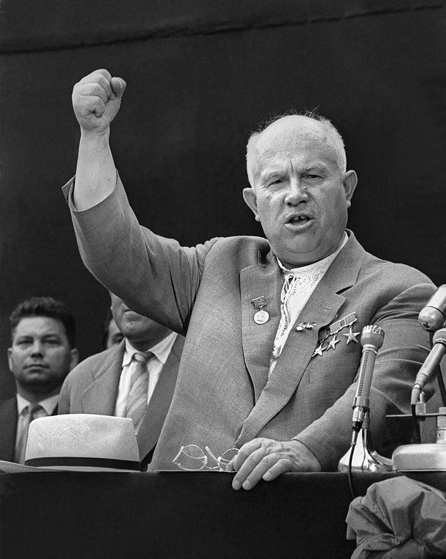 Generalni sekretar CK KPSS-a Nikita Hruščov