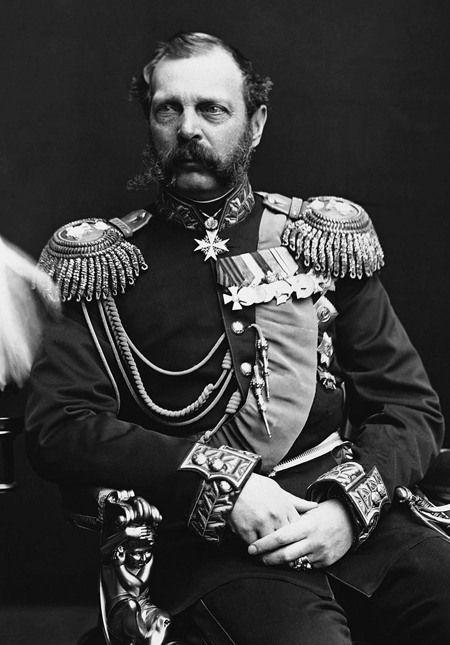 Portret cara Aleksandra II.