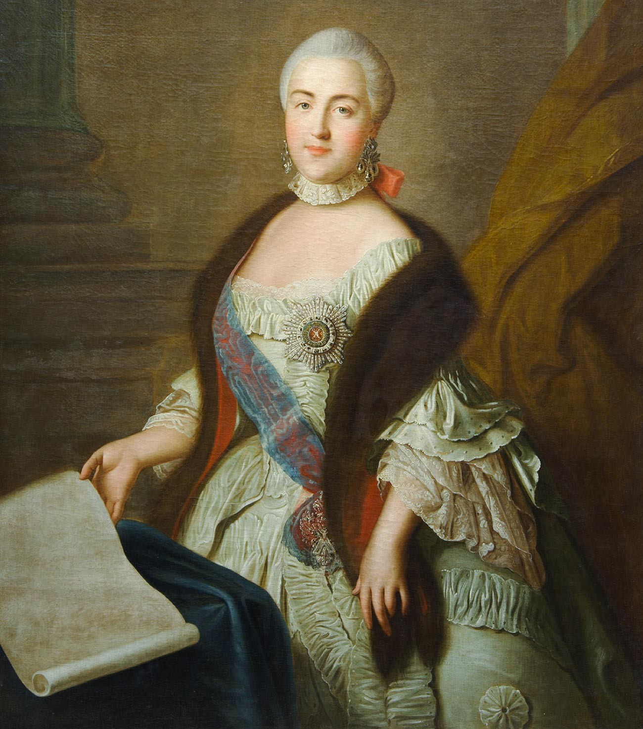 Portrait of Grand Duchess Ekaterina Alekseevna