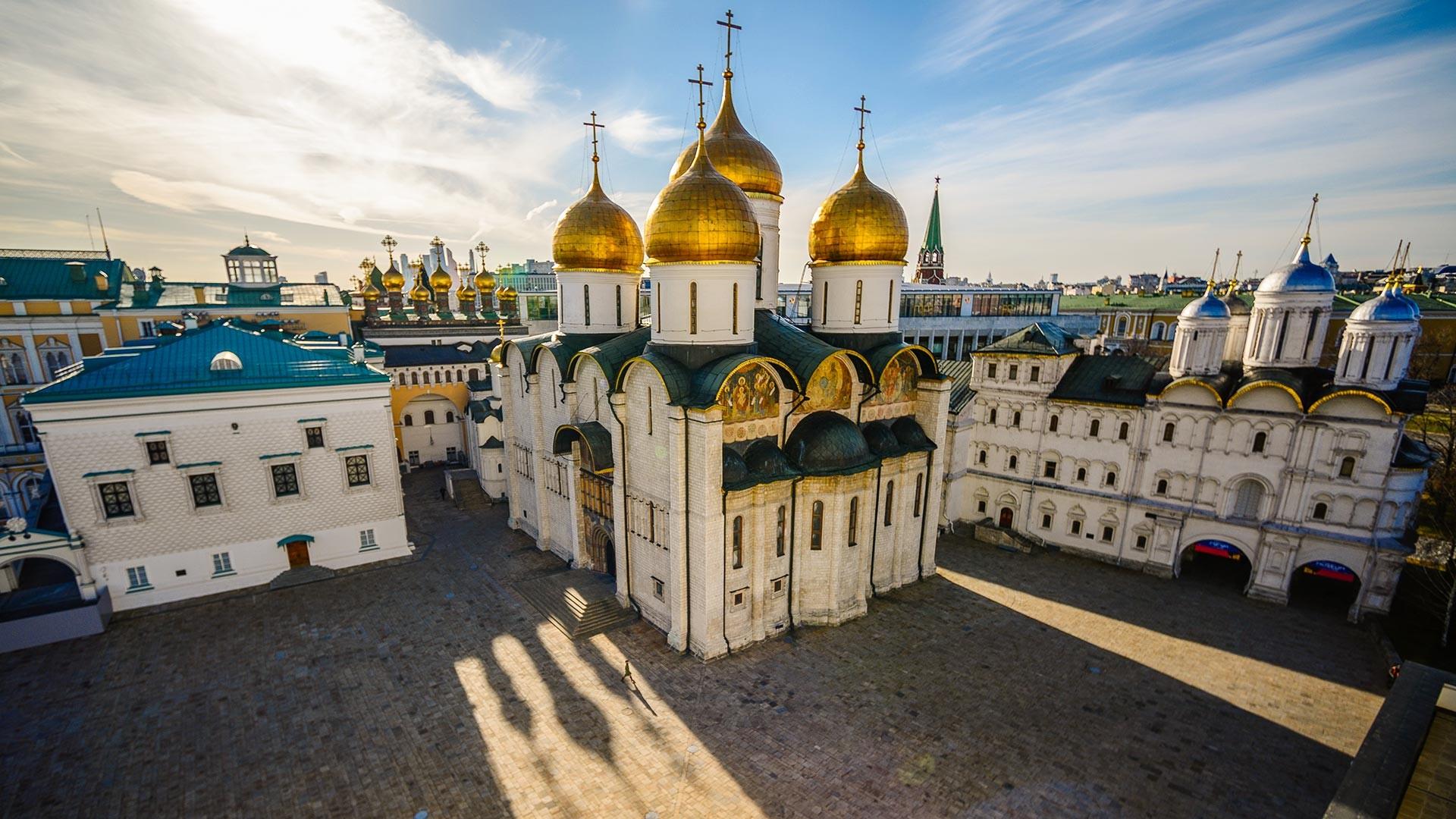 Place des Cathédrales au Kremlin