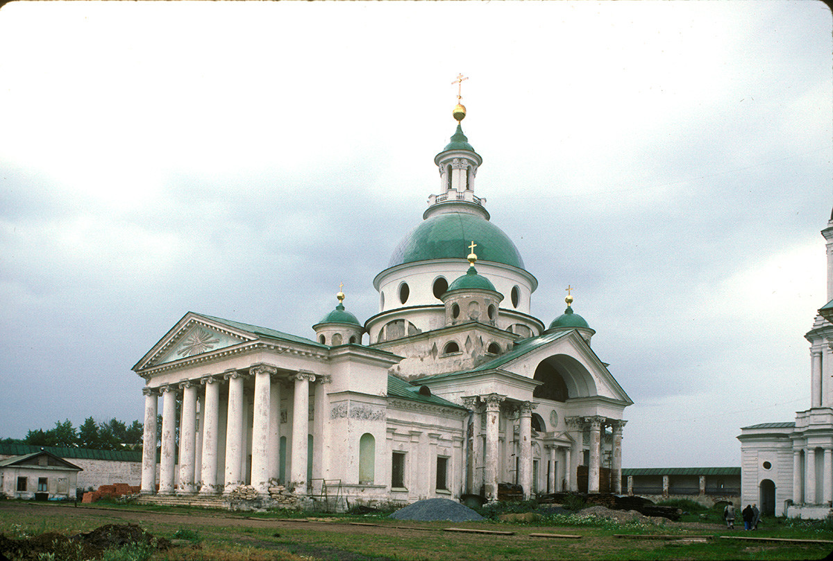 St. Dimitry Cathedral, southwest view. August 5, 1995