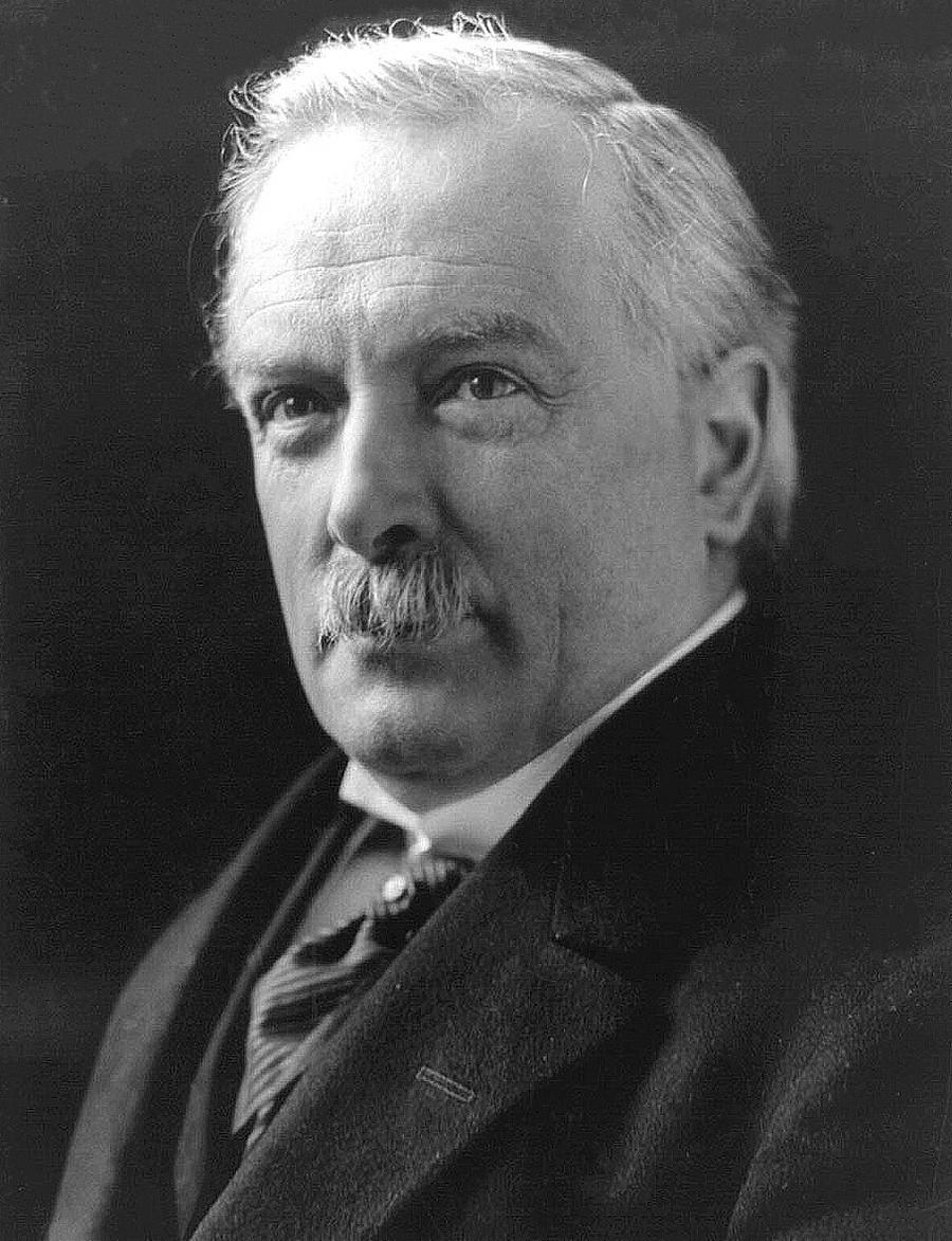Primeiro-ministro britânico David Lloyd George
