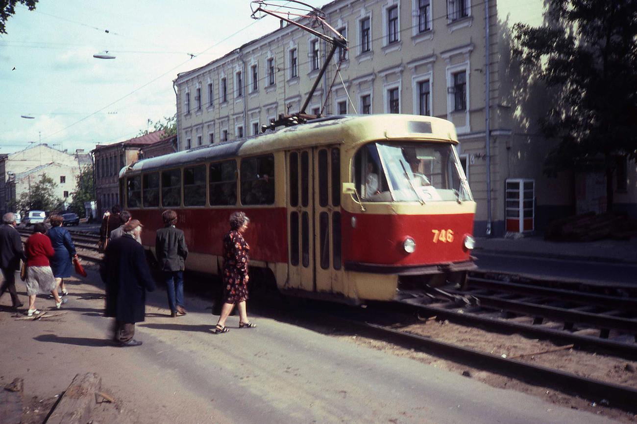 Tatra T3.