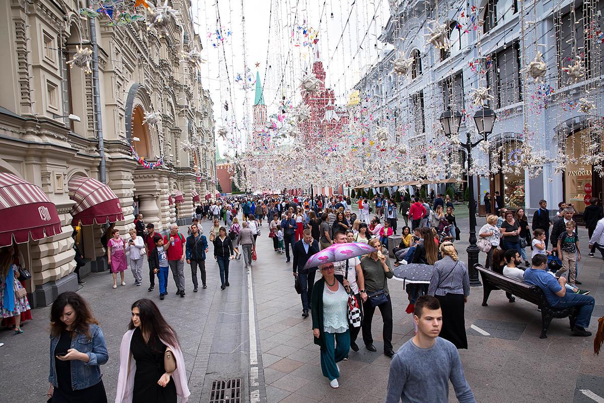 Nikolskaya street.