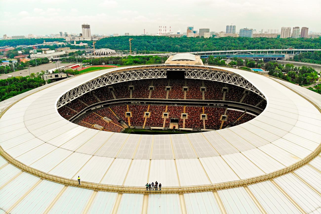 Luzhniki Stadium.