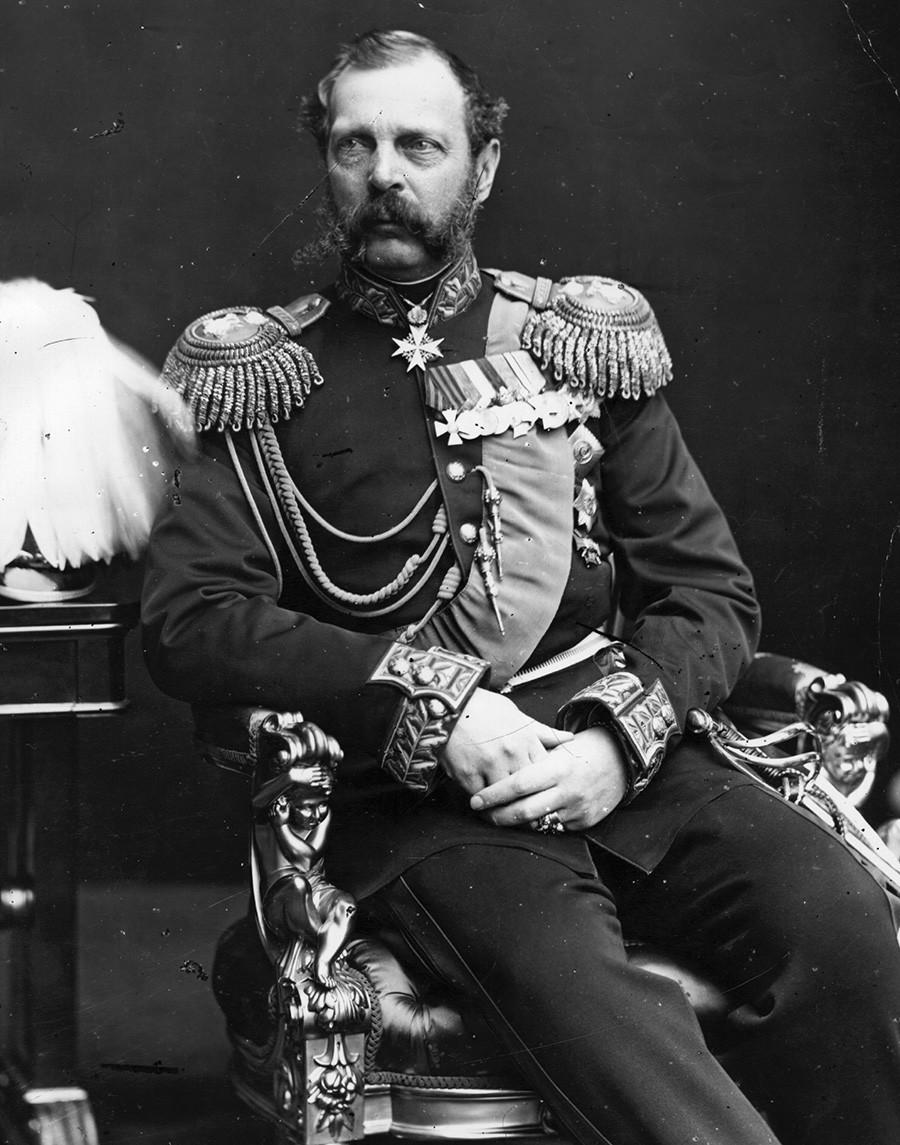 アレクサンドル2世、1870年