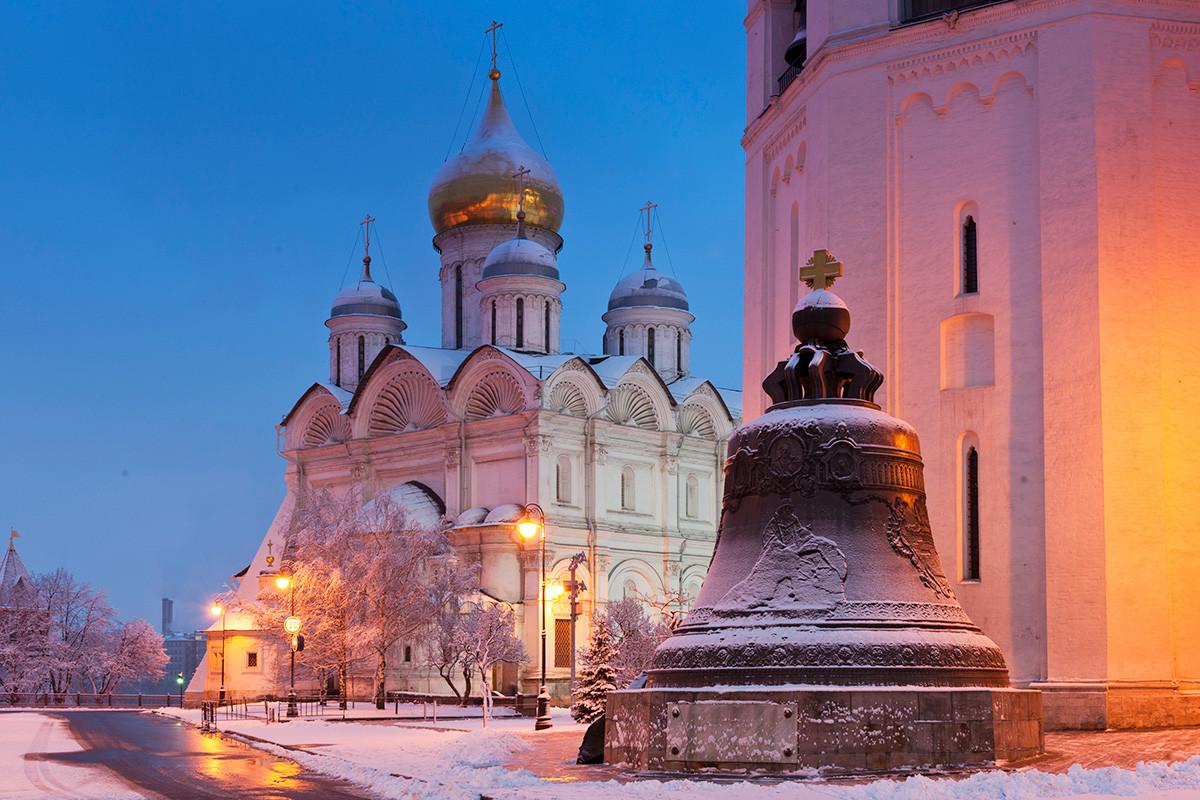 Cathédrale de l'Archange-Saint-Michel et Tsar Kolokol (Reine des cloches)