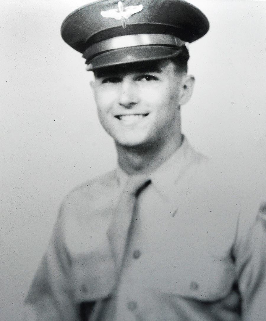 Pilot Ralph Parr med korejsko vojno