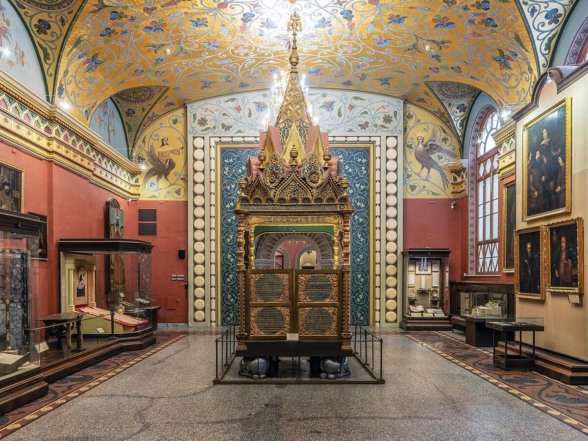 歴史博物館の内装