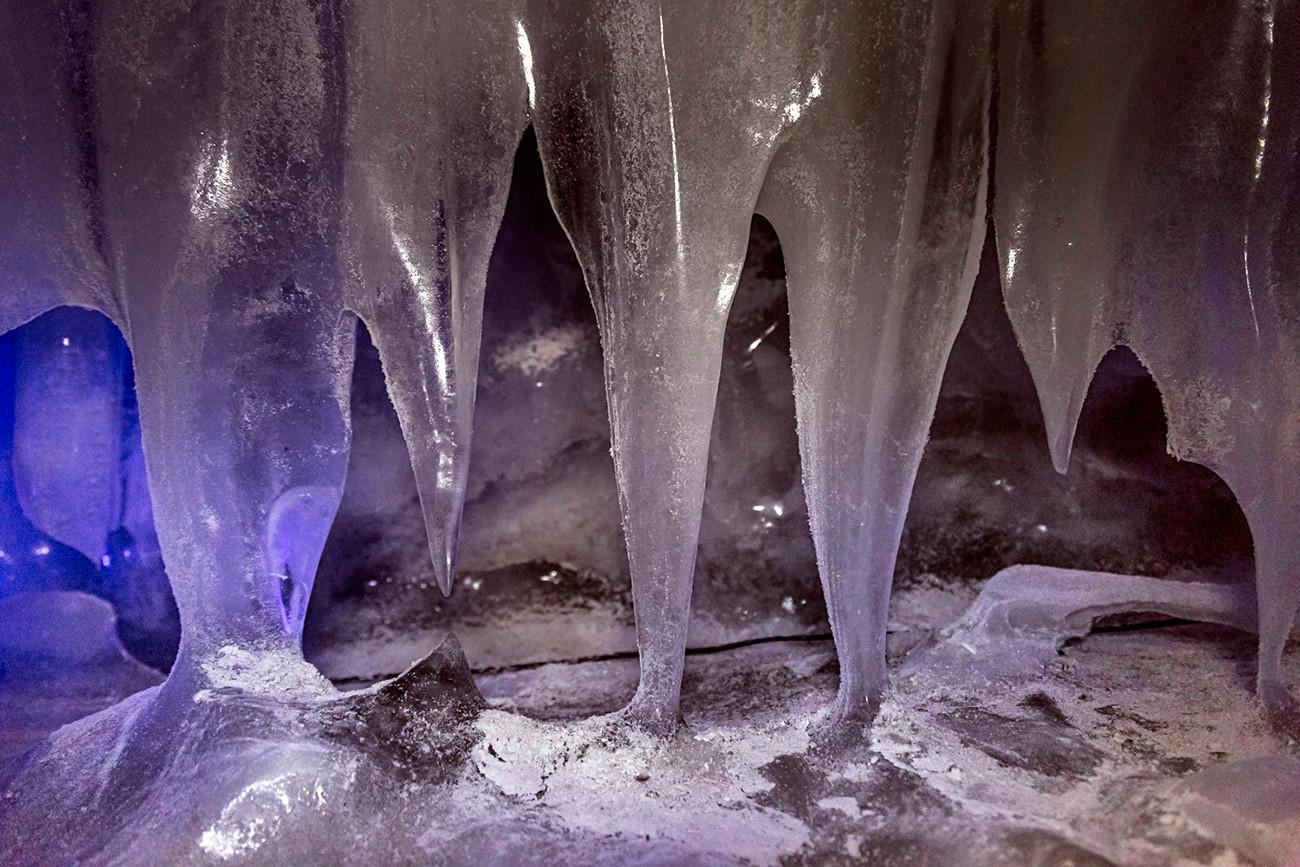 Caverna Kungur.