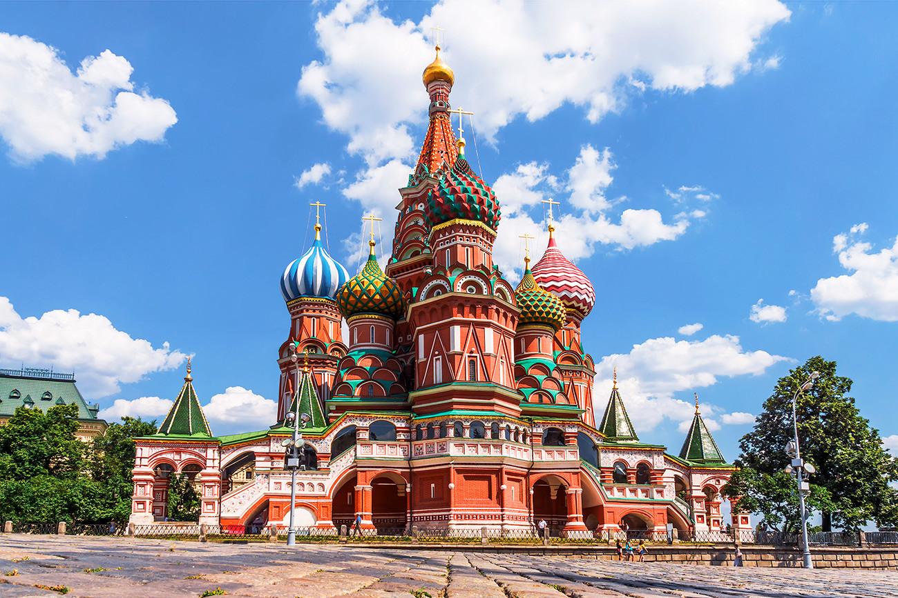 Храм Василија Блаженог у Москви.