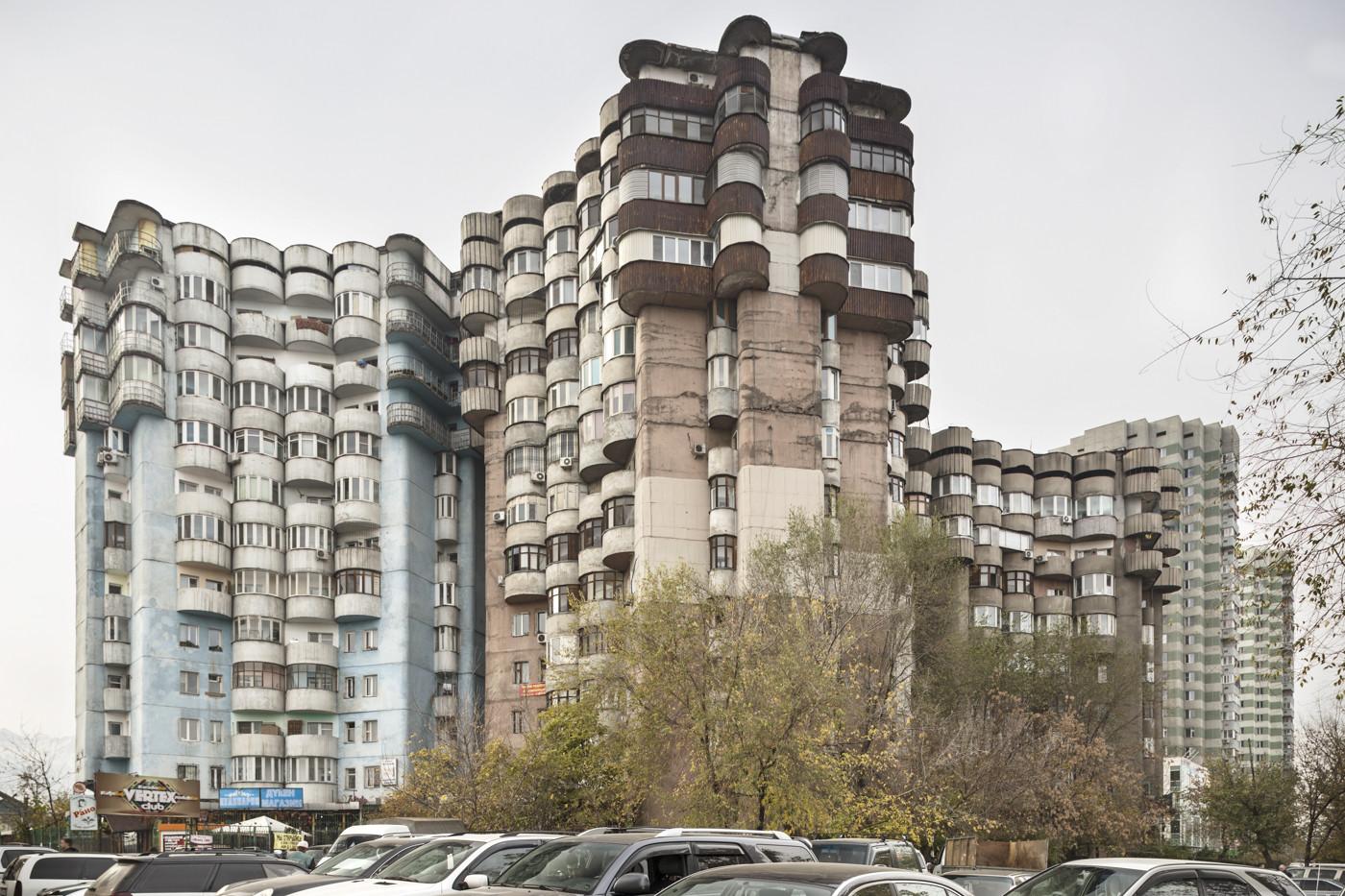 Complesso residenziale Aul (1986). Almaty, Kazakistan